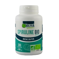 Spiruline Bio AB 300 comprimés 500 mg