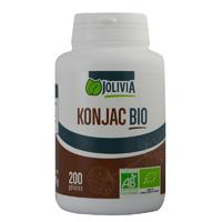 Konjac Bio 200 gélules végétales 470 mg