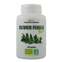 Olivier feuille Bio AB 200 gélules végétales 200 mg