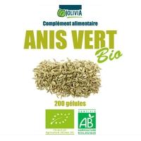 Anis vert Bio AB 200 gélules végétales 230 mg