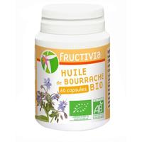 Bourrache Bio AB huile 60 capsules 500 mg