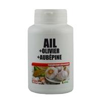 Ail-Olivier-Aubépine 180 capsules 270 mg