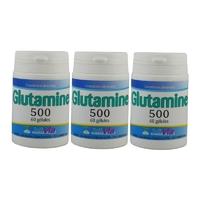 L-Glutamine 180 gélules (3x60 gélules) 500 mg