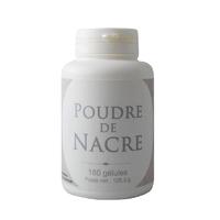Poudre de nacre 180 gélules végétales 490 mg