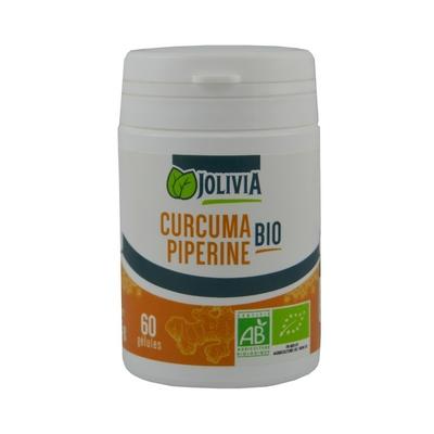 Curcuma piperine bio 60 gel