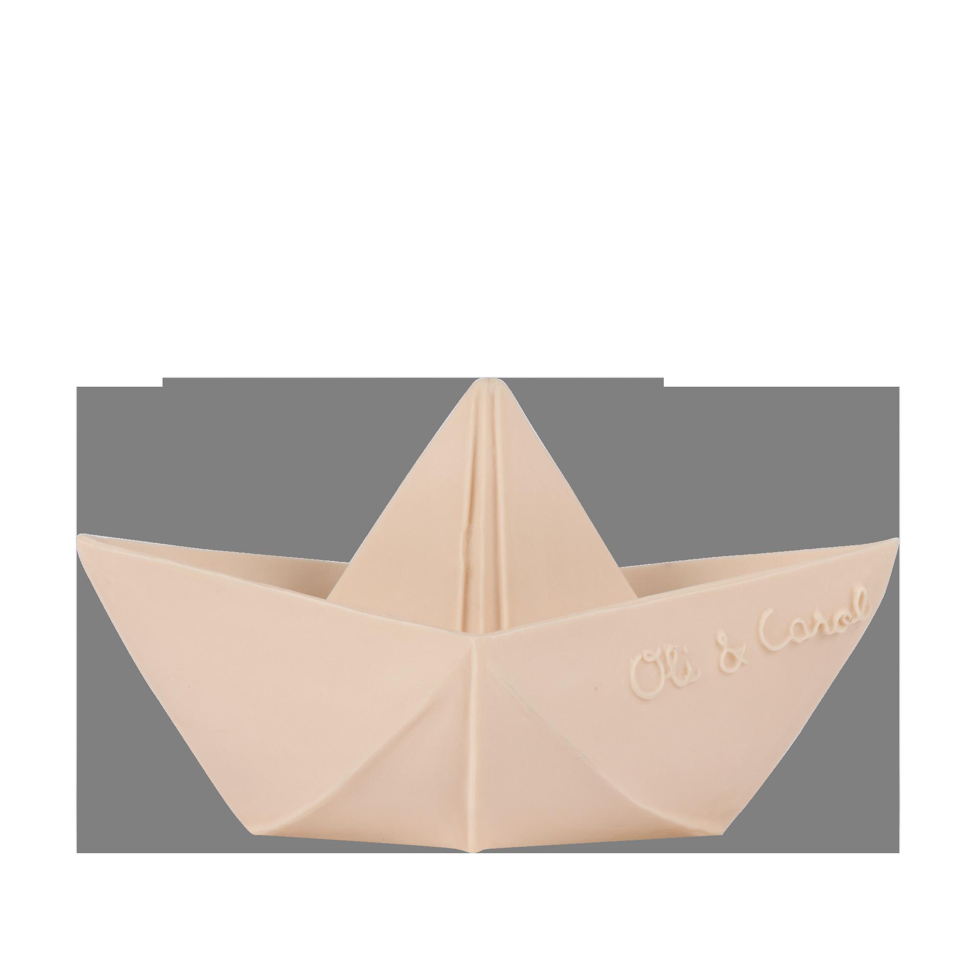 BATEAU ORIGAMI - NUDE