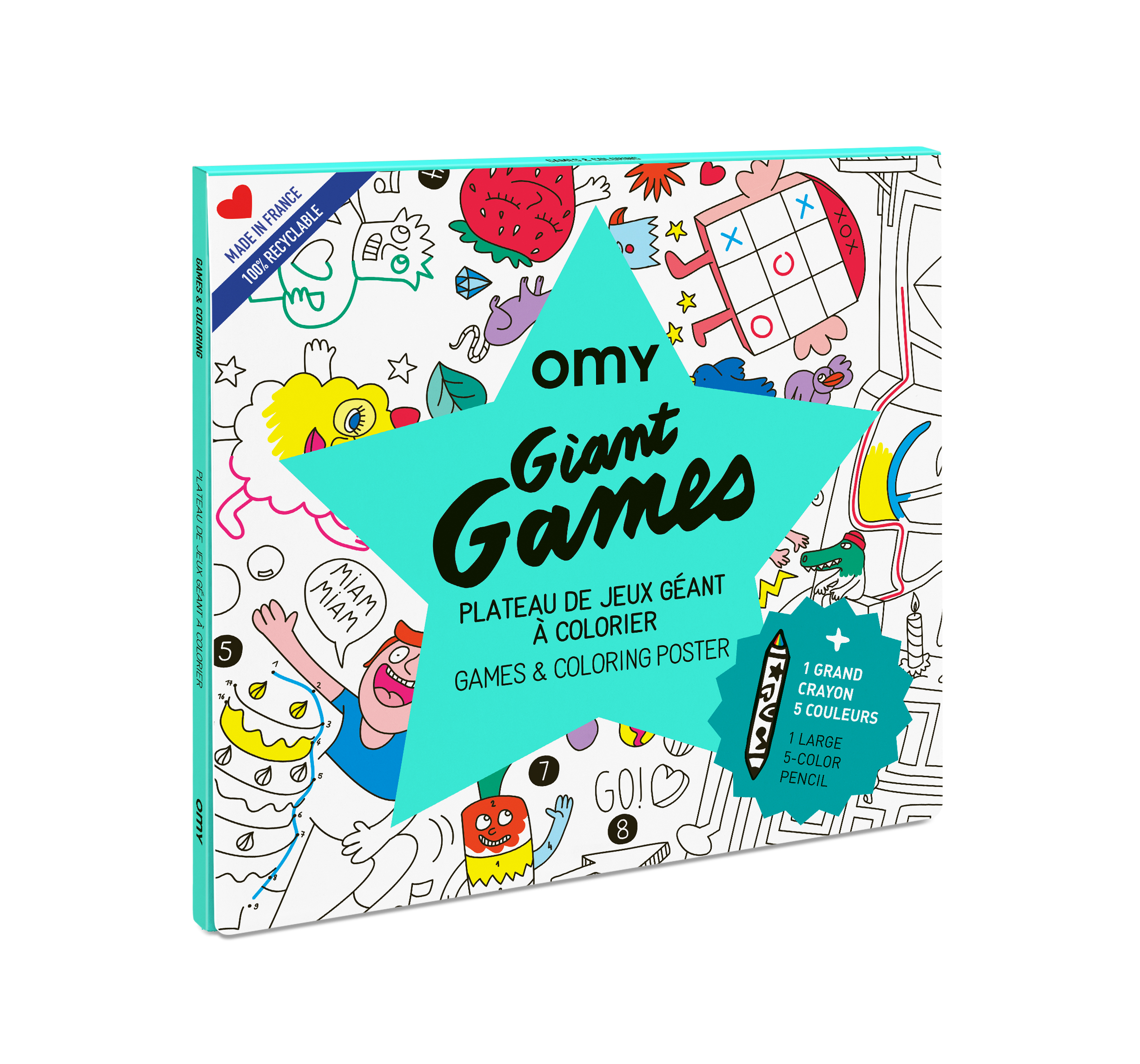POSTER GEANT - GAMES