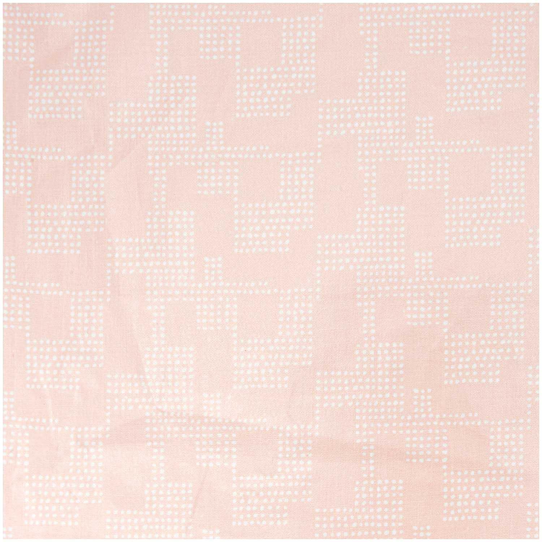 Tissu Enduit Rose Graphique