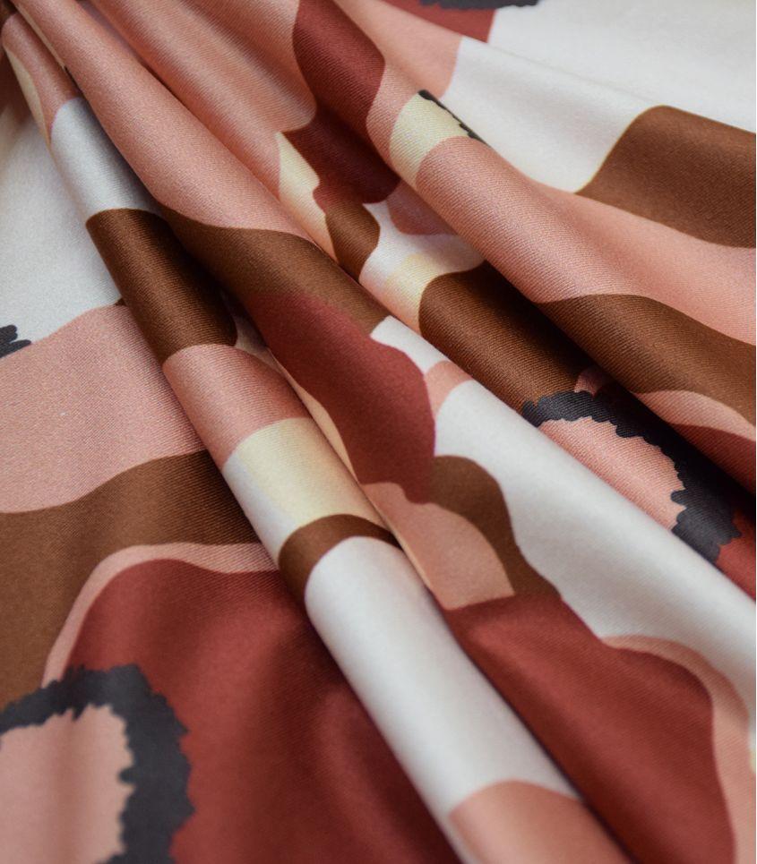Tissu Maillot de Bain Magnolia Blossom
