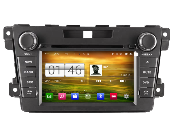 autoradio android 4 4 4 gps dvd mazda cx 7 compatible bose hightech. Black Bedroom Furniture Sets. Home Design Ideas