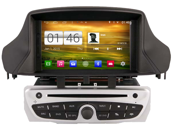 autoradio android dvd cran tactile gps renault megane 3 hightech. Black Bedroom Furniture Sets. Home Design Ideas