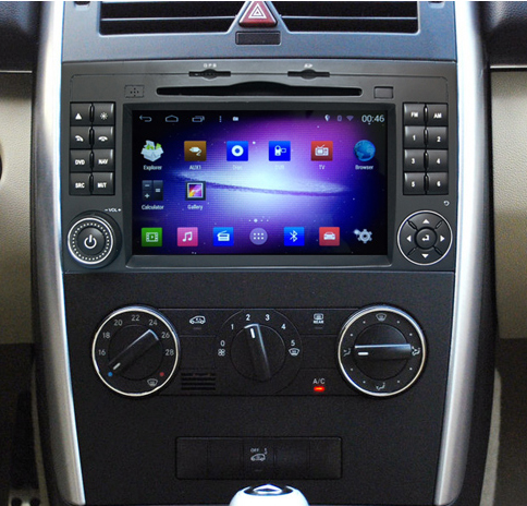 autoradio android 5 1 gps mercedes classe a b vito viano hightech. Black Bedroom Furniture Sets. Home Design Ideas