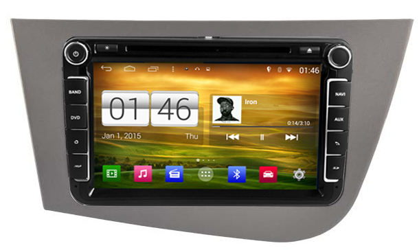 autoradio android gps 2din wifi pour seat leon hightech privee. Black Bedroom Furniture Sets. Home Design Ideas