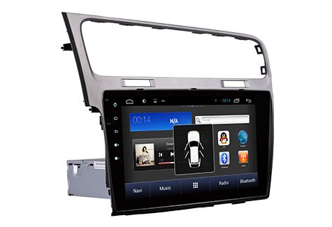autoradio android gps volkswagen golf 7 cran tactile 10. Black Bedroom Furniture Sets. Home Design Ideas