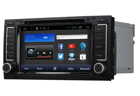 autoradio android vw touareg gps bluetooth usb hightech privee. Black Bedroom Furniture Sets. Home Design Ideas