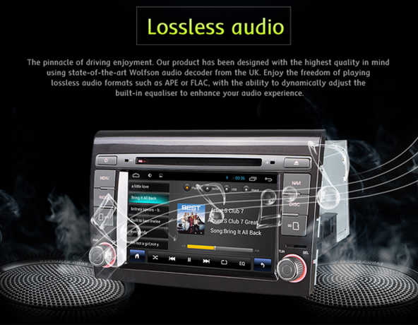 gps for iphone autoradio android wifi gps dvd 233 cran tactile fiat bravo 10737