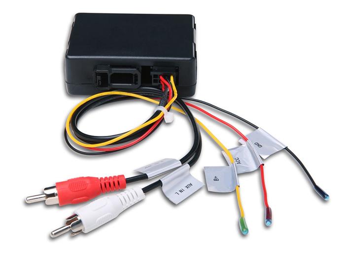 Boitier fibre optique pour conserver l\'ampli BOSE Porsche 911, Boxster, Cayman de 2004 à 2012