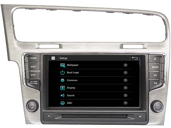 autoradio gps volkswagen golf 7 poste dvd gps golf 7 pas cher. Black Bedroom Furniture Sets. Home Design Ideas