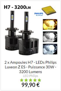 Ampoule H7 LED 30W