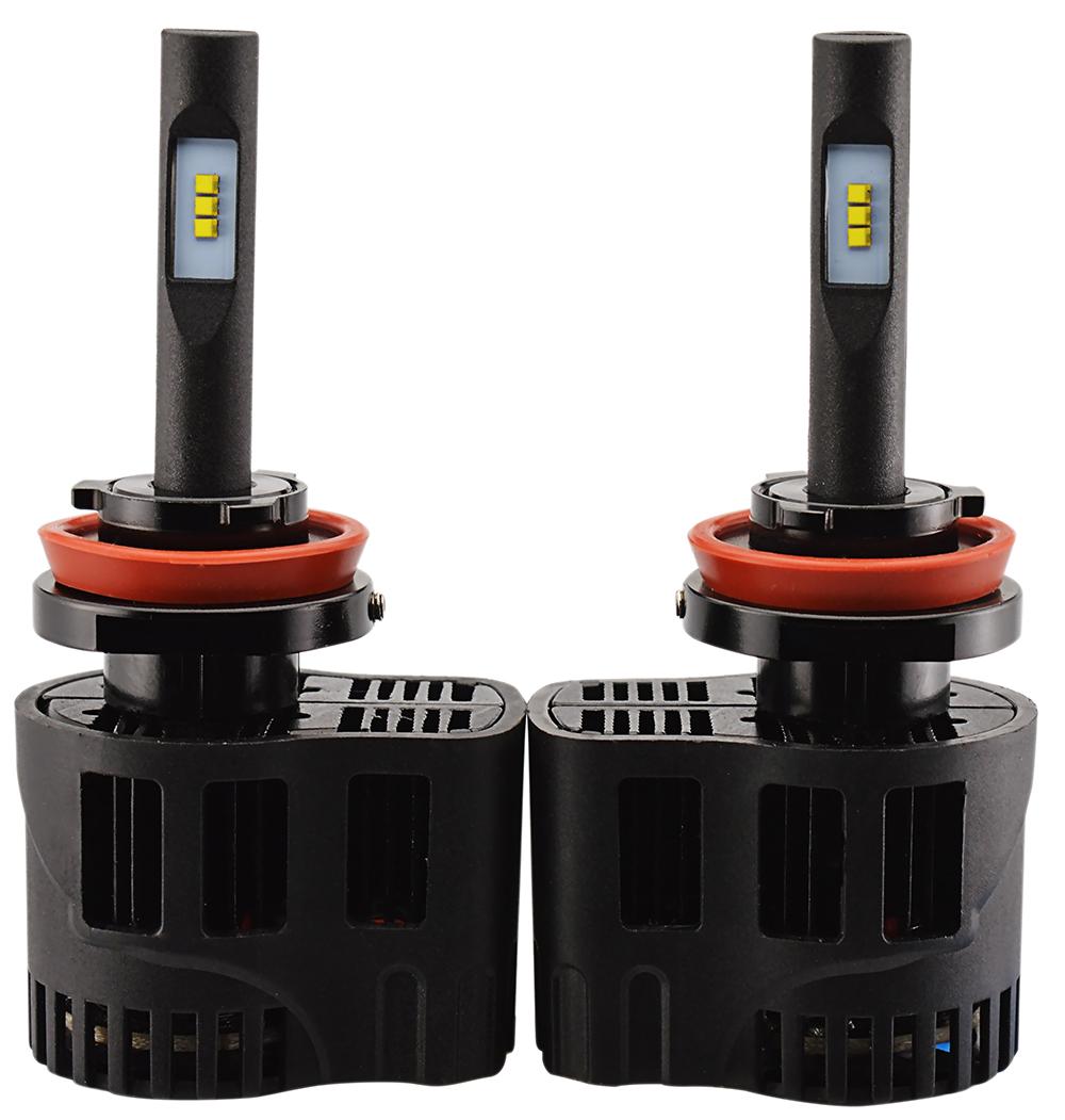 2 x Ampoules H11 - LEDs Puissance 30W - 3200 Lumens