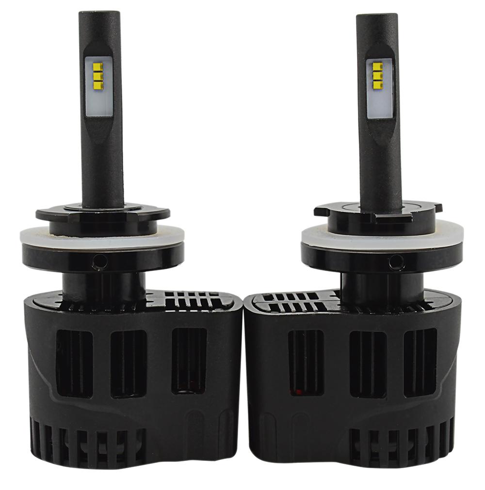 2 x Ampoules H15 - LEDs Puissance 30W - 3200 Lumens