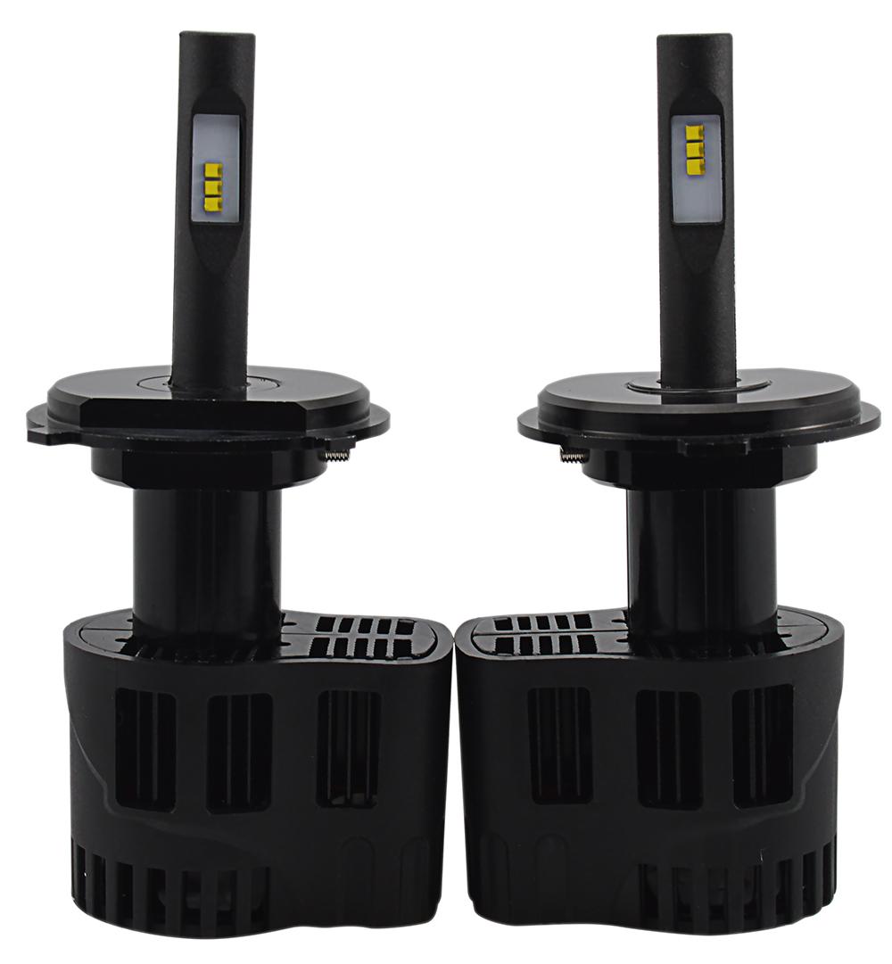 2 x Ampoules H4 - LEDs Puissance 30W - 3200 Lumens