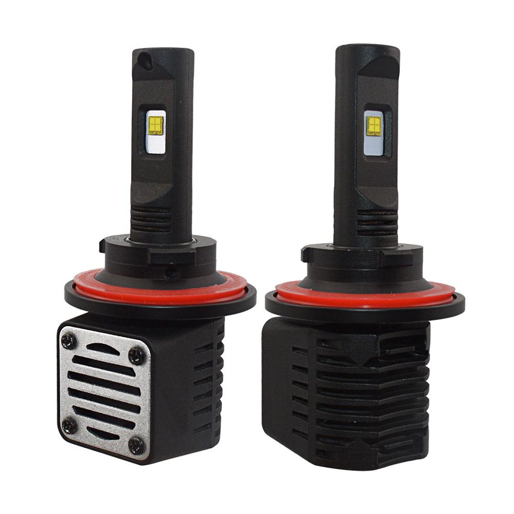 2 x Ampoules H13 - LED Puissance 40W - 4000 Lumens