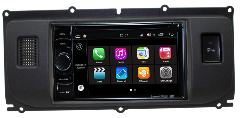 autoradio android 7 1 gps range rover evoque wifi cran tactile hightech privee. Black Bedroom Furniture Sets. Home Design Ideas