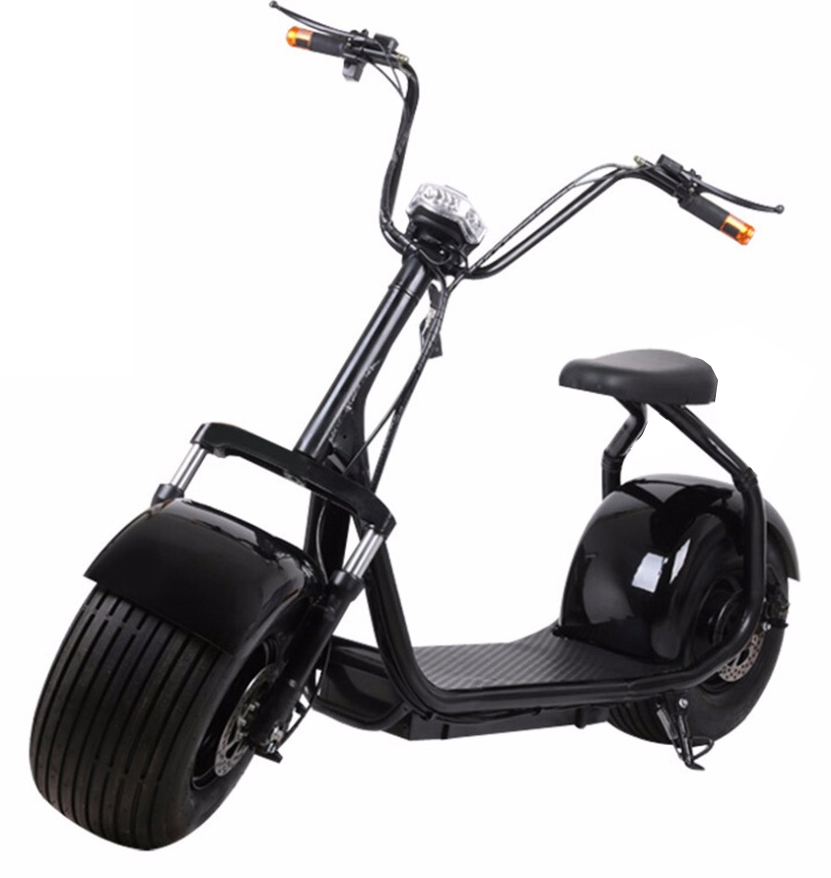 citycoco scooter lectrique grosse roue type harley 1000w. Black Bedroom Furniture Sets. Home Design Ideas