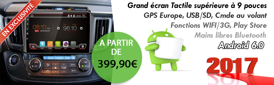 Autoradio GPS Android 6.0