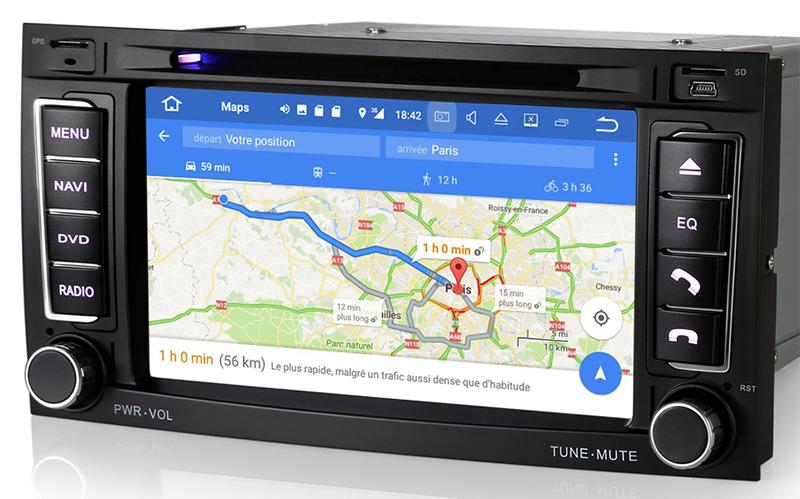 commandez votre poste android 7 1 gps volkswagen touareg t5 ecran tactile 7 hightech. Black Bedroom Furniture Sets. Home Design Ideas