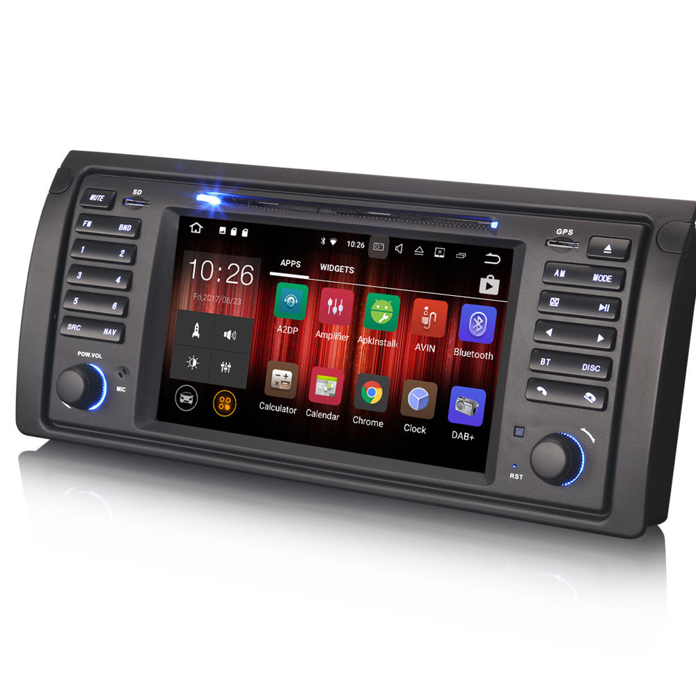 autoradio gps android 8 0 cran tactile bmw x5 e53 et. Black Bedroom Furniture Sets. Home Design Ideas