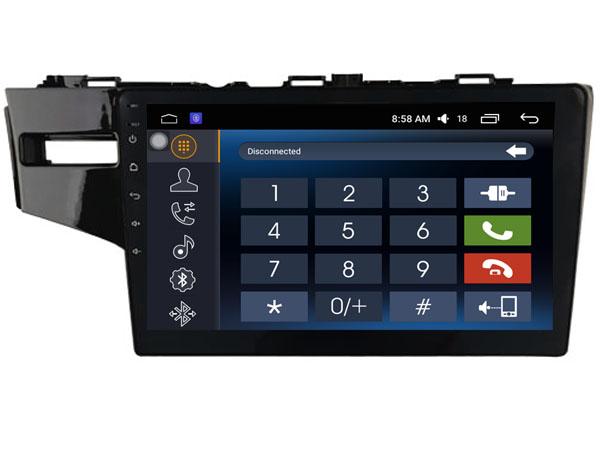 ecran tactile carplay android auto gps waze usb wifi honda jazz. Black Bedroom Furniture Sets. Home Design Ideas