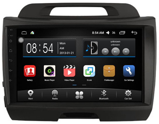 autoradio android 6 0 gps wifi kia sportage grand cran tactile 9. Black Bedroom Furniture Sets. Home Design Ideas