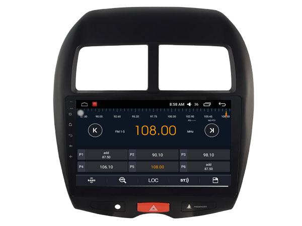 autoradio android 6 0 gps mitsubishi asx citro n c4 aircross et peugeot 4008. Black Bedroom Furniture Sets. Home Design Ideas