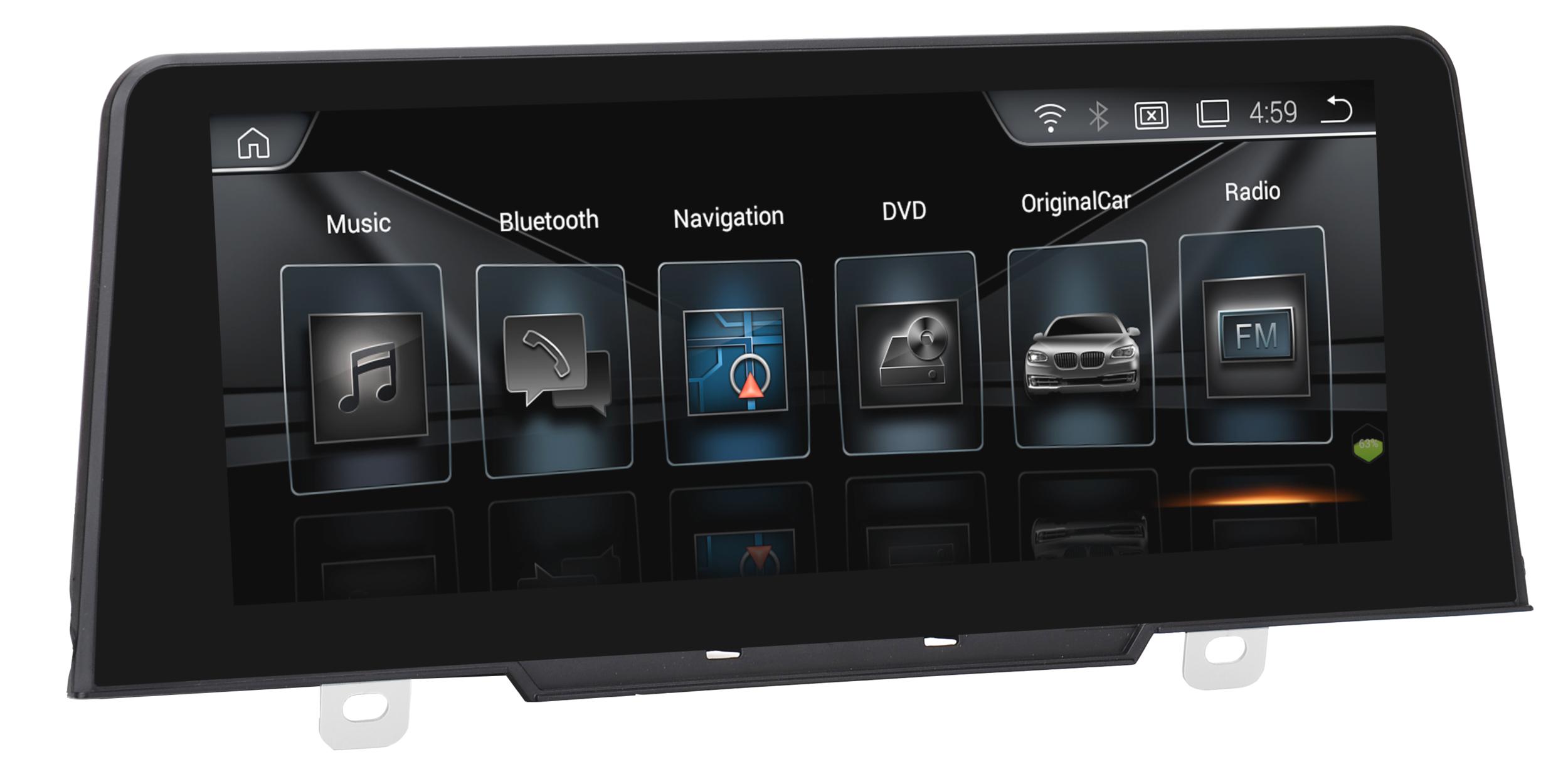 Autoradio Android écran tactile Navigation GPS BMW Série 1 depuis 2017