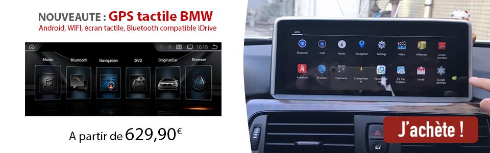 écran tactile BMW Android
