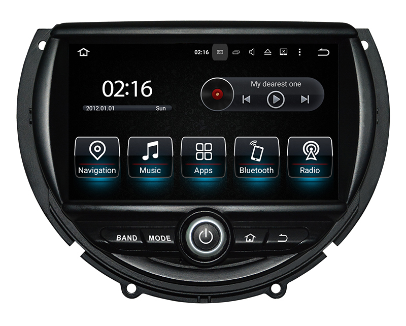 ecran tactile gps mini cooper depuis 2014 bluetooth android hightech. Black Bedroom Furniture Sets. Home Design Ideas