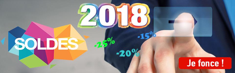 Soldes 2018 ! 1 jusqu'à 20% de remise sur de nombreux produits