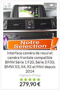 Caméra de recul pour BMW Série 1 Série 3