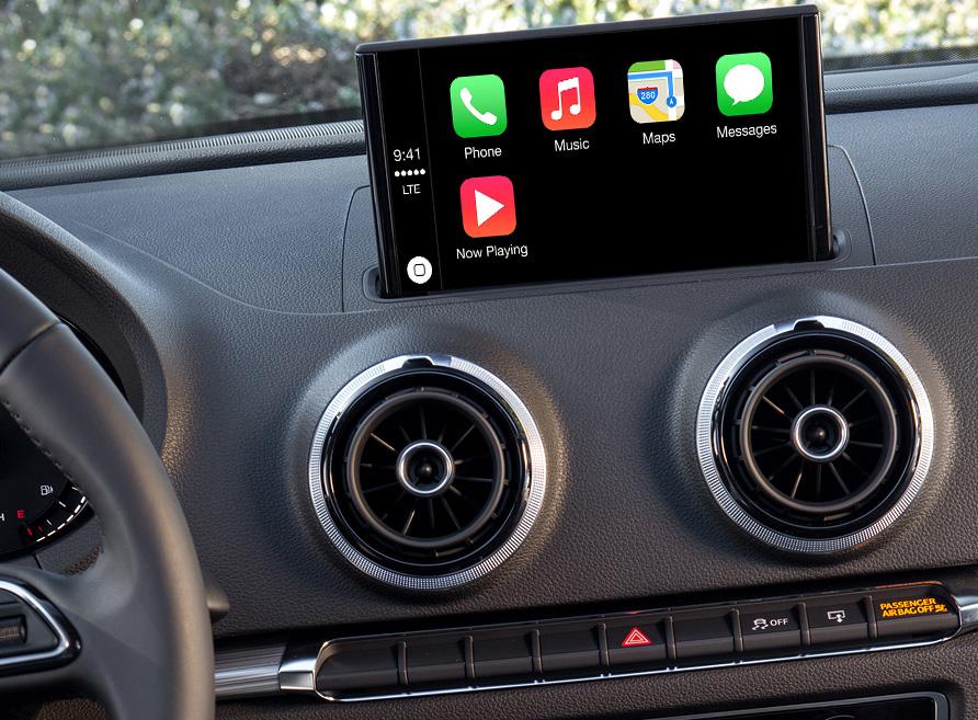 Ajouter Apple CarPlay sur votre écran Audi A3 A4 A6 A7 et ...