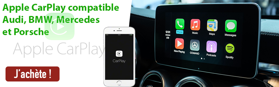 Apple Carplay sur votre Auto