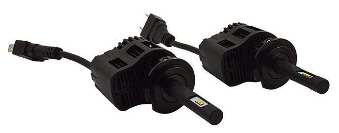 2 x Ampoules H7 - LEDs Puissance 30W - 3200 Lumens