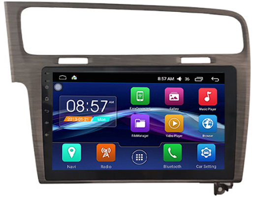 autoradio android 6 0 gps volkswagen golf 7 cran tactile 10 2. Black Bedroom Furniture Sets. Home Design Ideas