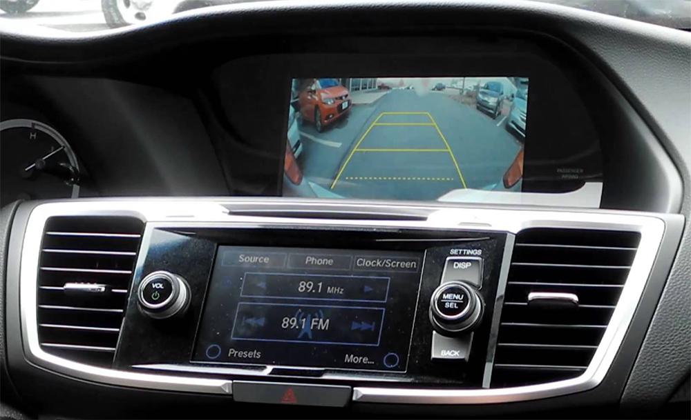 Interface multimédia A/V et caméra de recul Honda Accord de 2013 à 2015