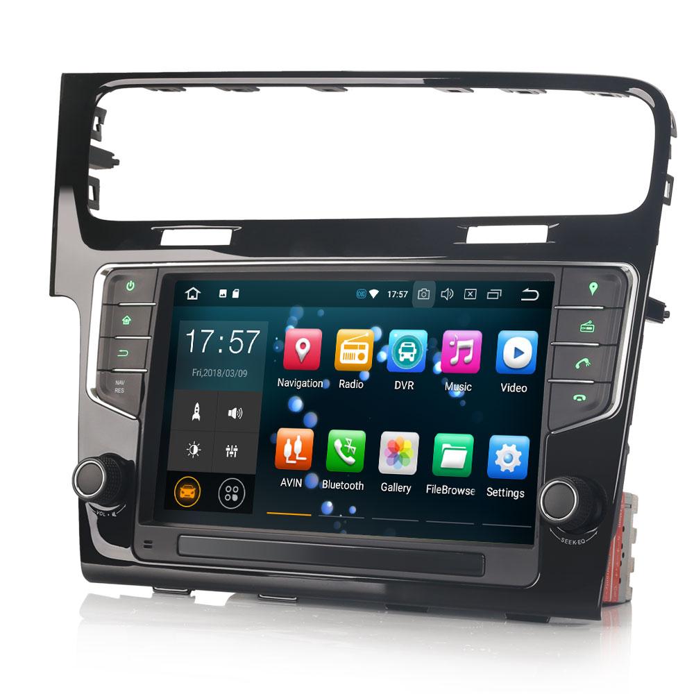commandez votre poste android 7 1 gps volkswagen golf 7 wifi cran tactile hightech. Black Bedroom Furniture Sets. Home Design Ideas