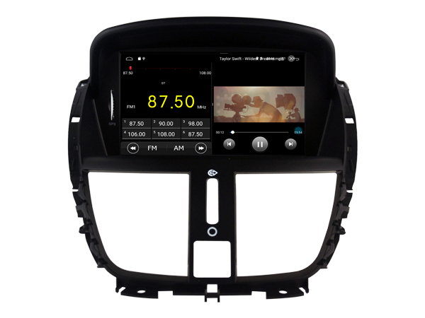 achetez votre autoradio android gps peugeot 207 wifi dvd. Black Bedroom Furniture Sets. Home Design Ideas
