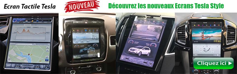 Ecran Tactile Tesla Style