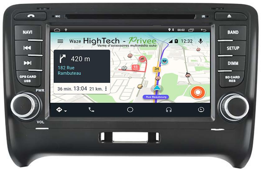 commandez votre poste android 8 1 audi tt gps dvd tactile bluetooth hightech. Black Bedroom Furniture Sets. Home Design Ideas