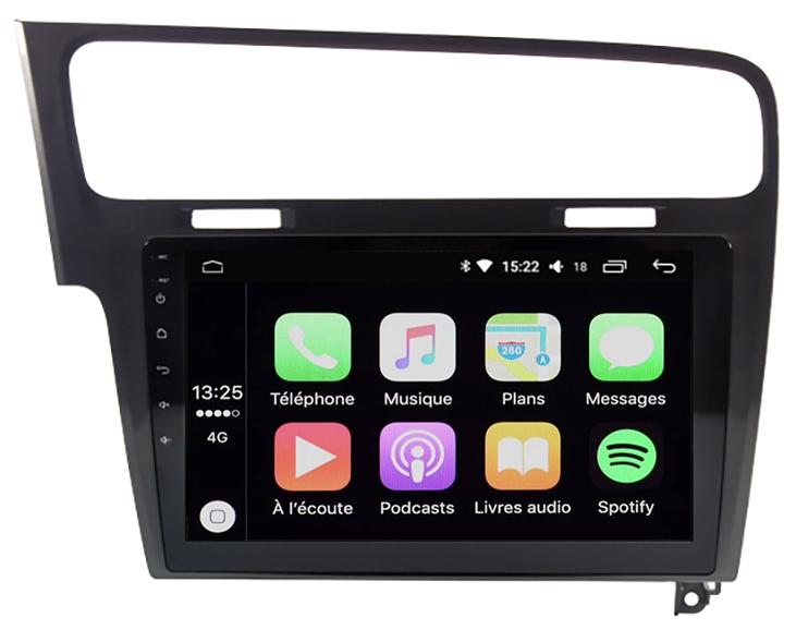 ecran tactile carplay android auto gps waze wifi. Black Bedroom Furniture Sets. Home Design Ideas